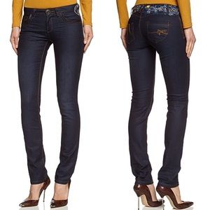 Desigual Claudia Embroidered Jeans